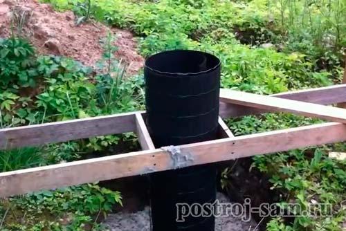 Как построить кирпичный столб