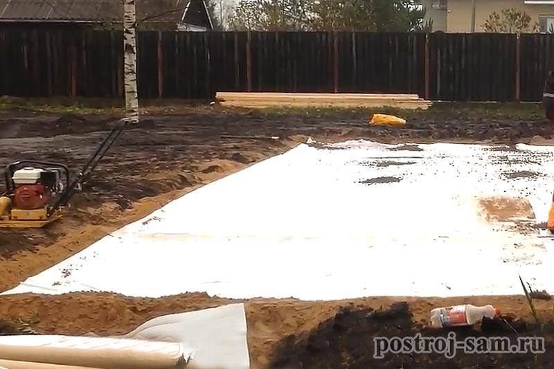 Фундамент плита своими руками для дома