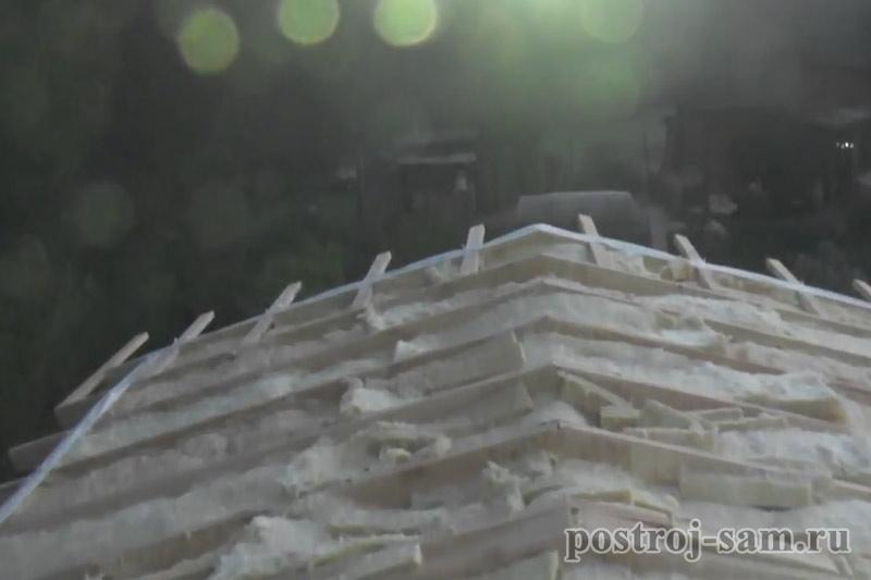 Утепление стен каркасного дома изнутри