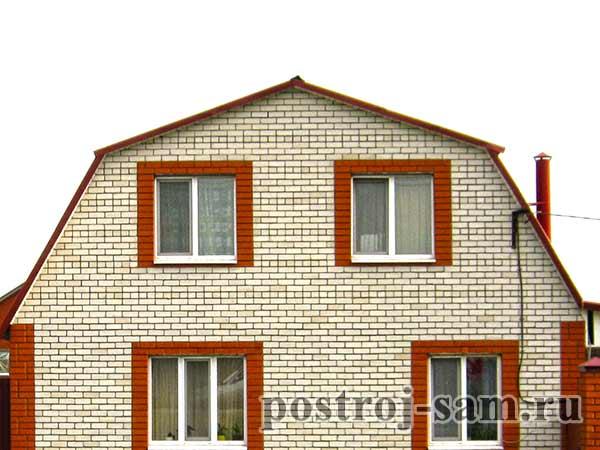 мансардная крыша фото домов