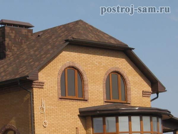 крыши домов мансардные фото