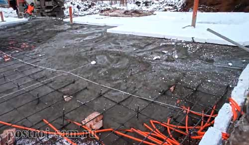 What to add to the concrete at temperatures below zero