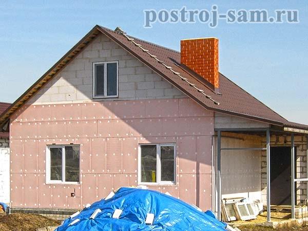 Правильное утепление стен дома снаружи своими руками - Построй дом сам
